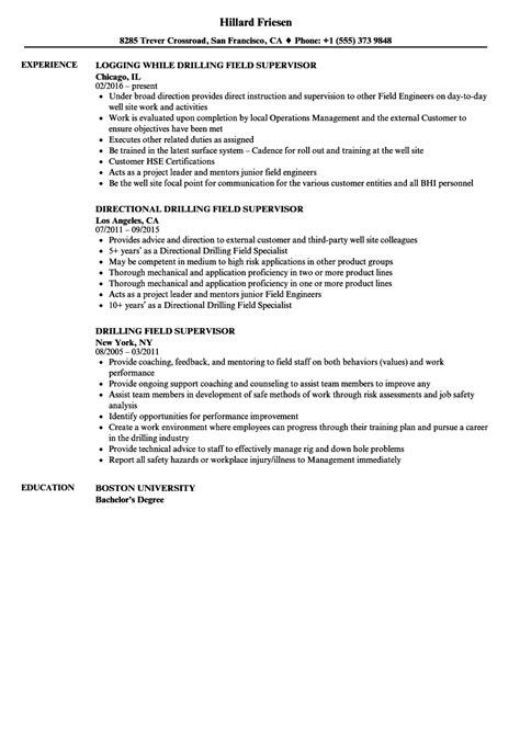 Drilling rig resume sample  Vegasliteracy ml